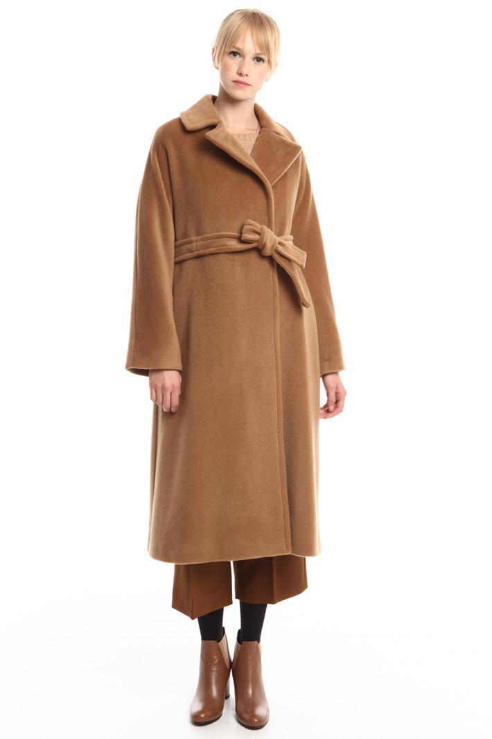 Cappotto in beaver di lana Fashion Market