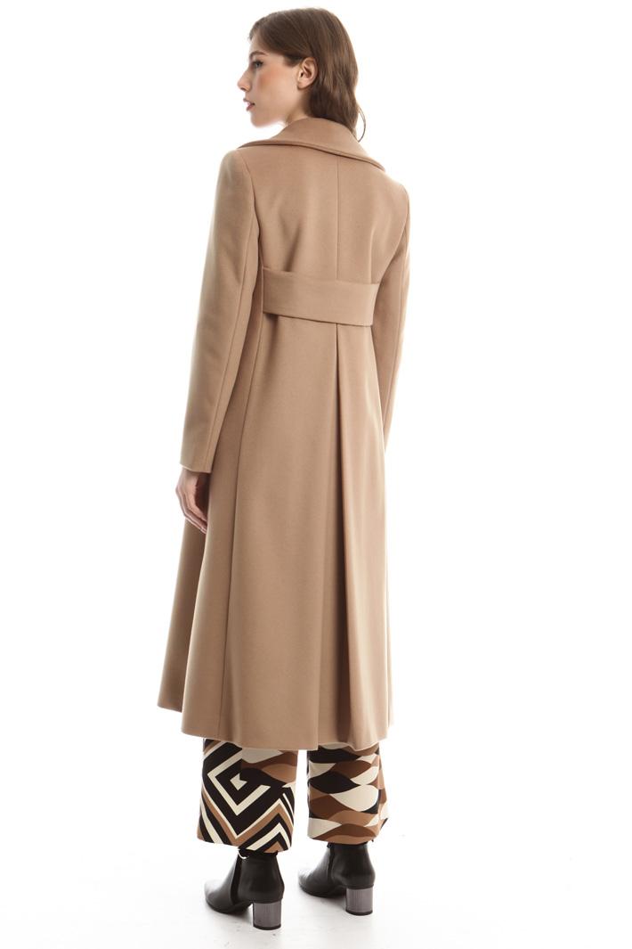 Cappotto lungo in drap Fashion Market