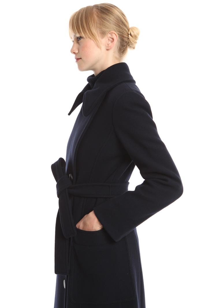 Cappotto in panno di lana Fashion Market