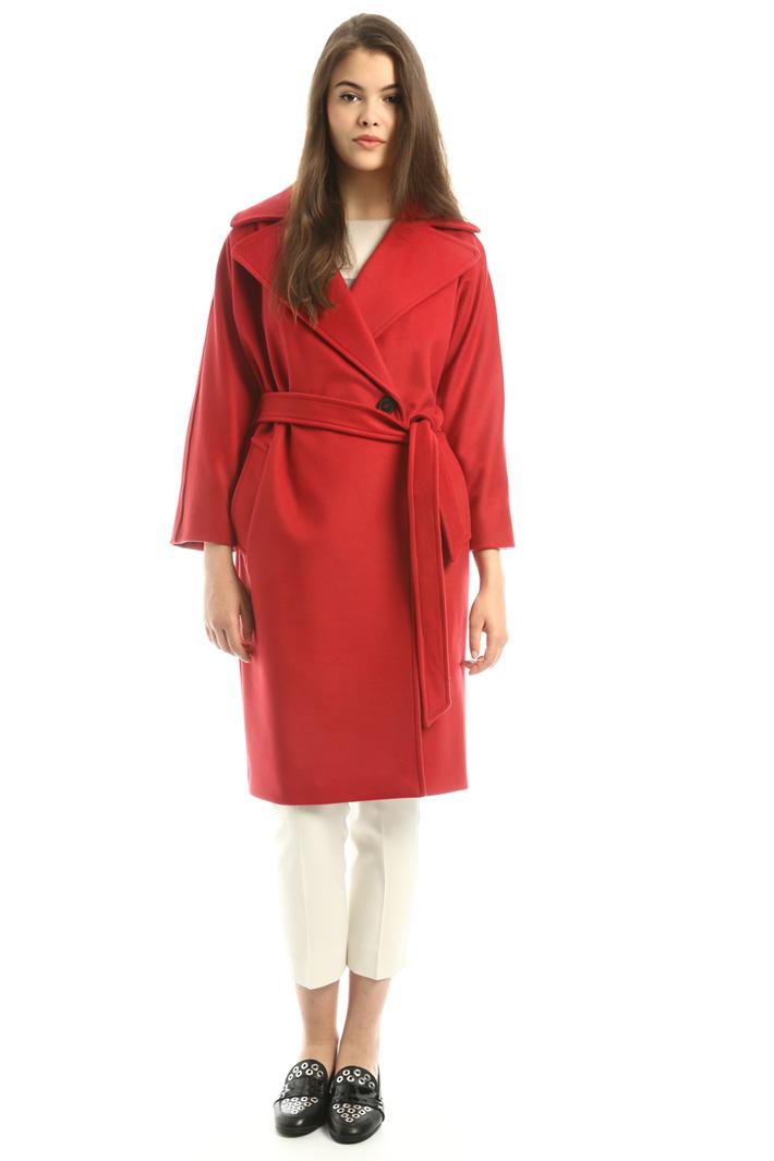 Cappotto con maxi revers Fashion Market