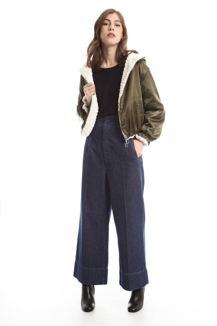 Bomber in raso tecnico Fashion Market