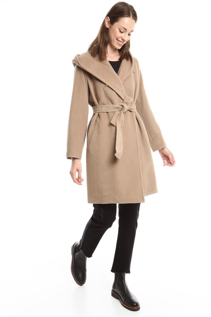 Cappotto in misto lana e seta Fashion Market