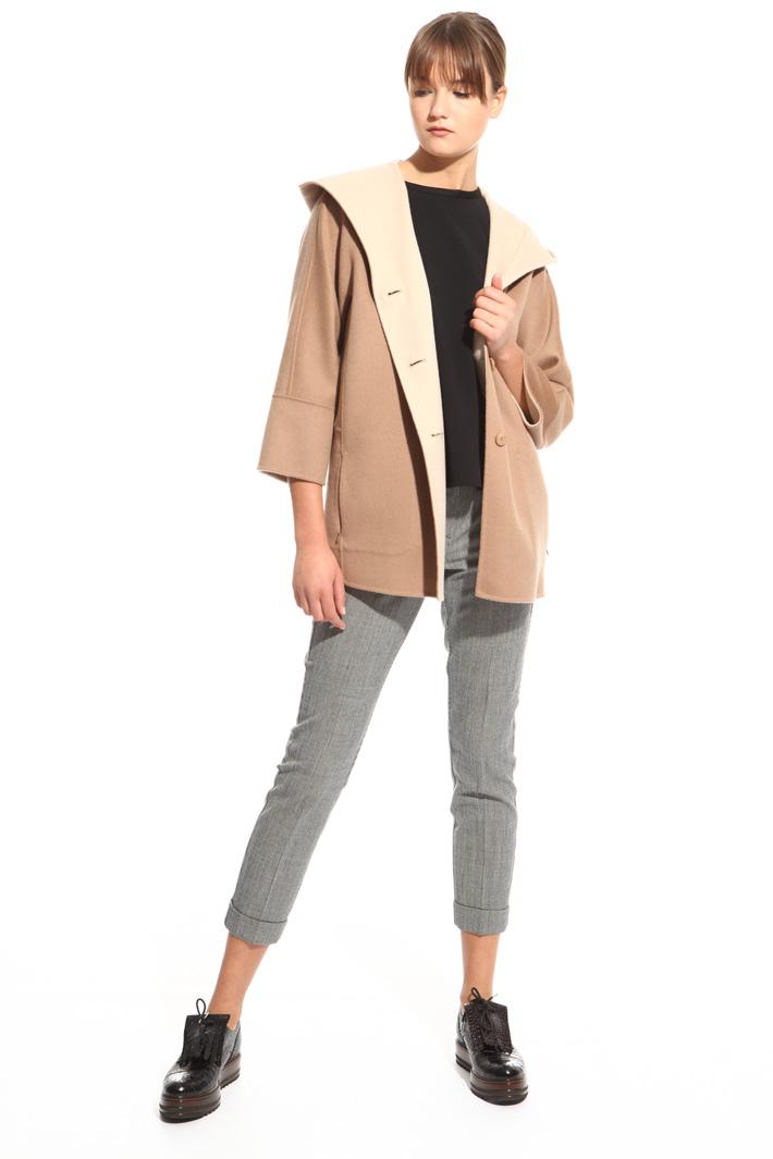 Cappotto con cappuccio Fashion Market