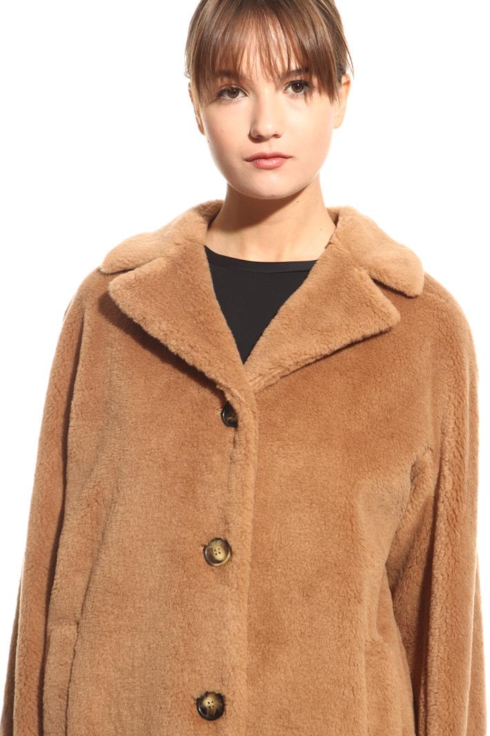 Cappotto effetto peluche Fashion Market