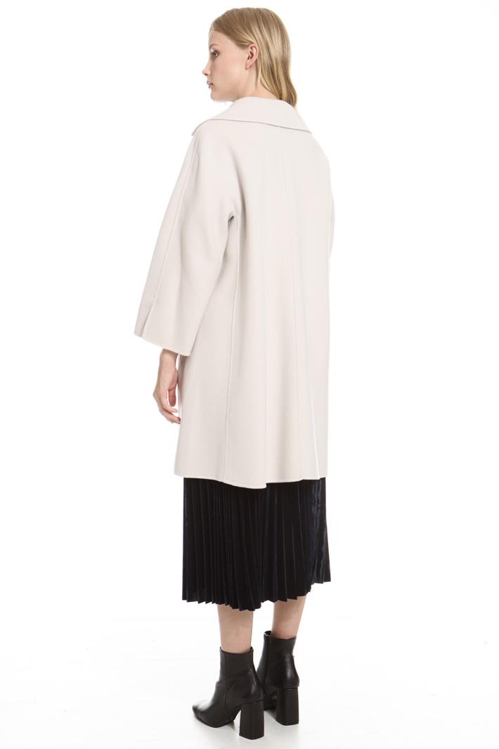 Capospalla in double di lana Fashion Market