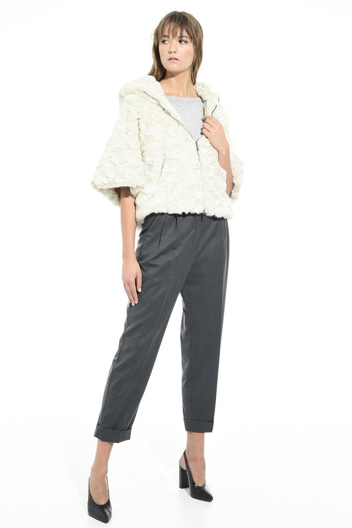 Giacca in simil pelliccia Fashion Market