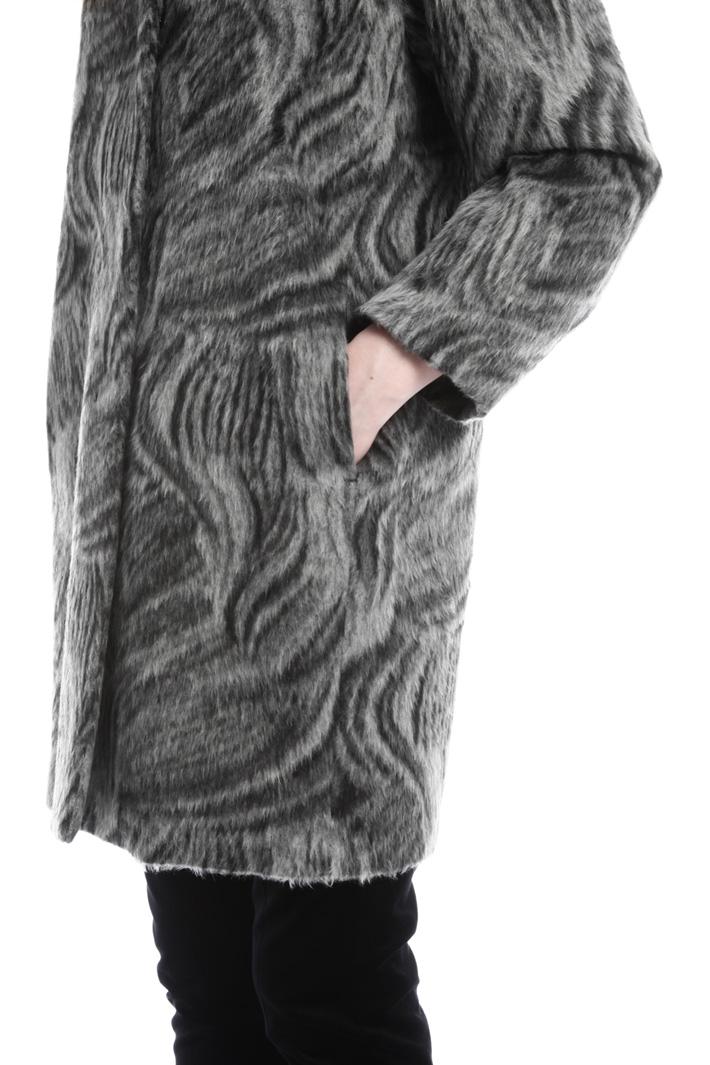 Cappotto effetto mohair Fashion Market