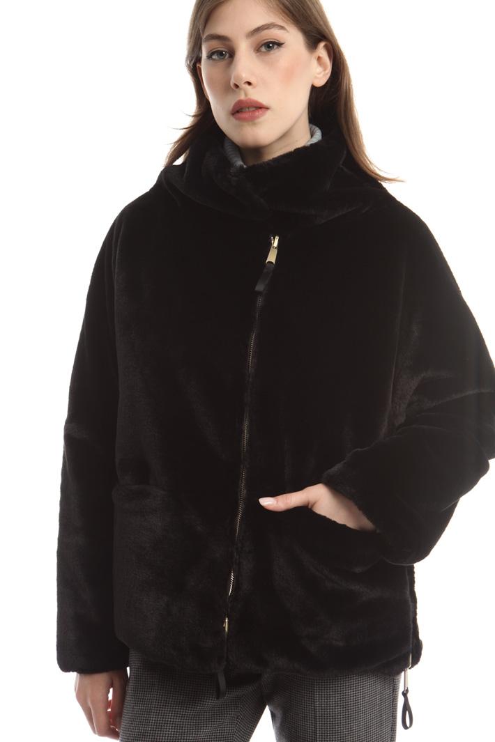 Giacca in similpelliccia Fashion Market