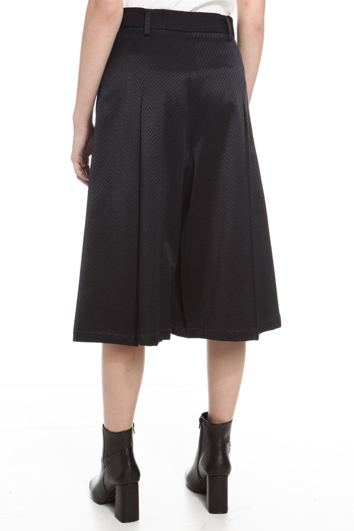 Gonna pantalone con cintura Fashion Market