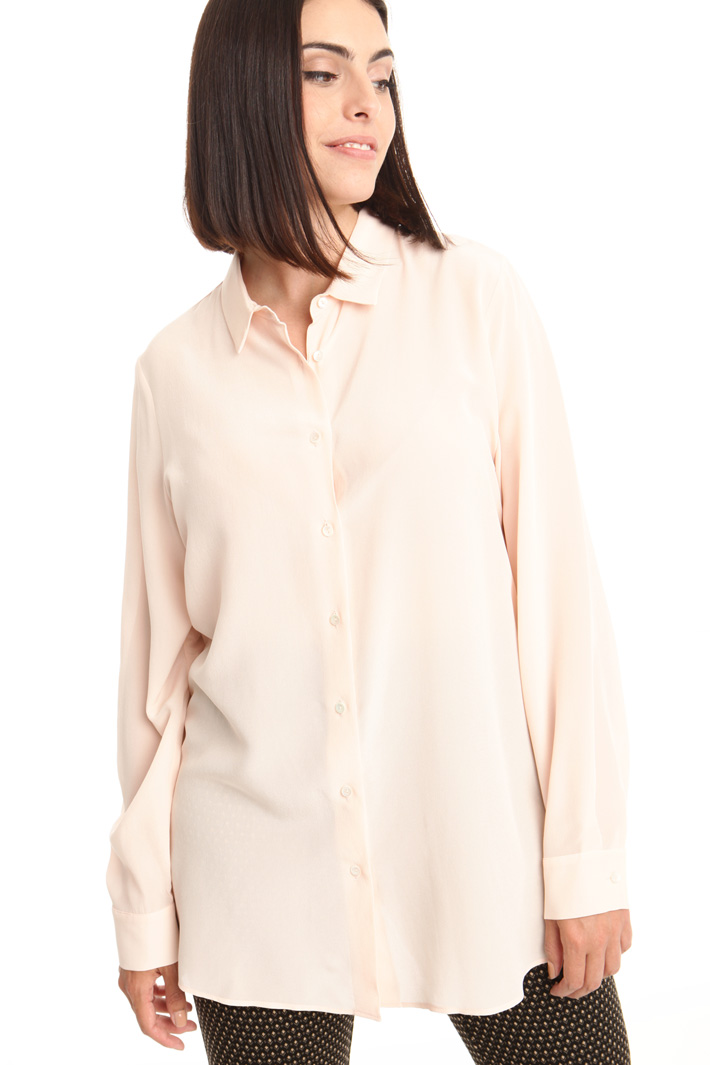 Camicia in crepe de chine Fashion Market
