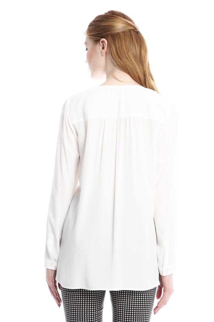 Blusa con scollo a V Fashion Market