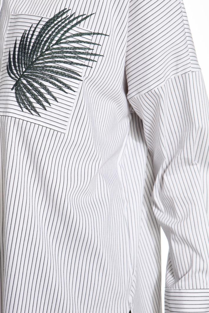 Camicia over con ricamo Fashion Market