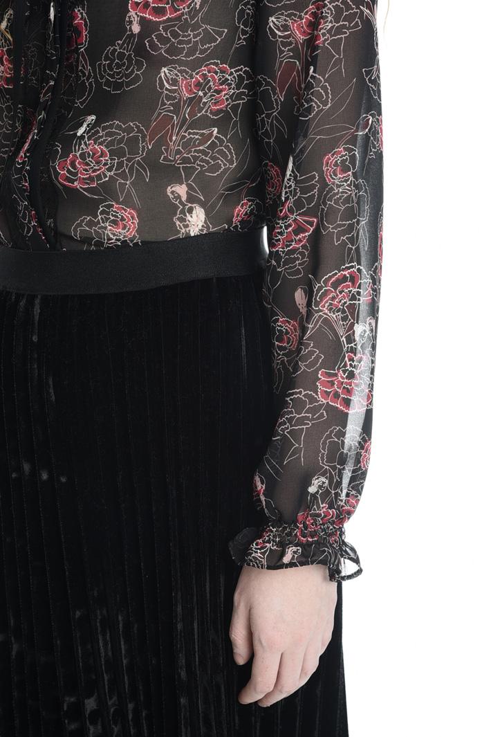 Camicia in georgette stampata Fashion Market