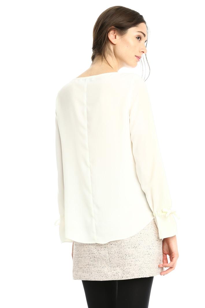 Blusa fluida in crepe Fashion Market