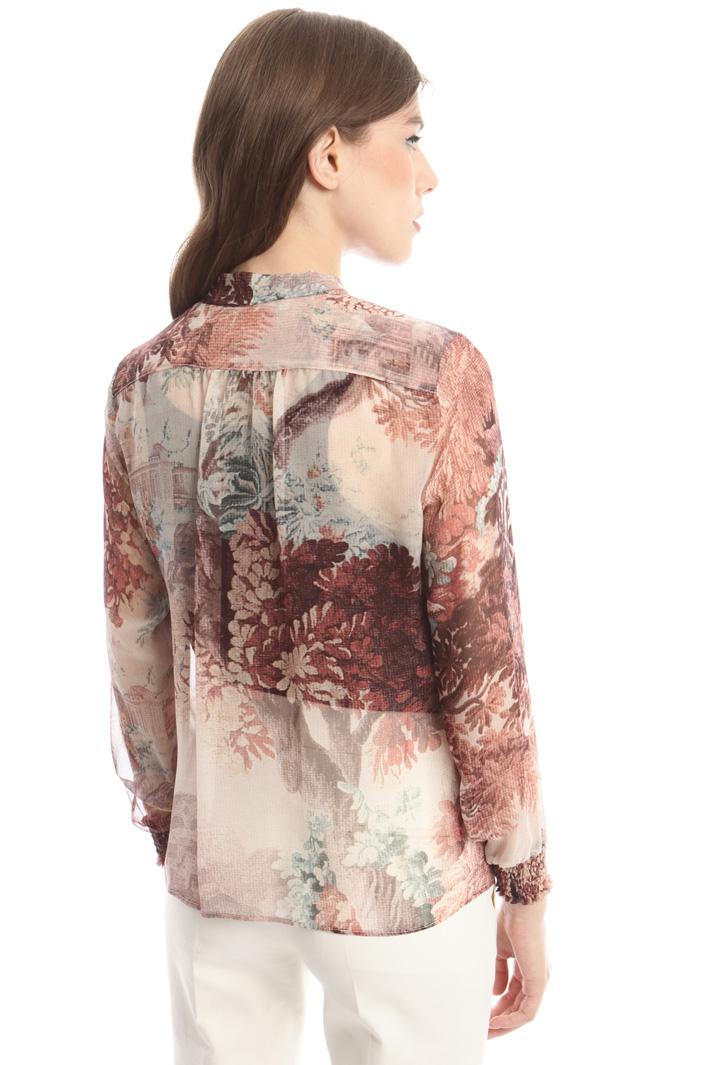 Camicia con trasparenze Fashion Market