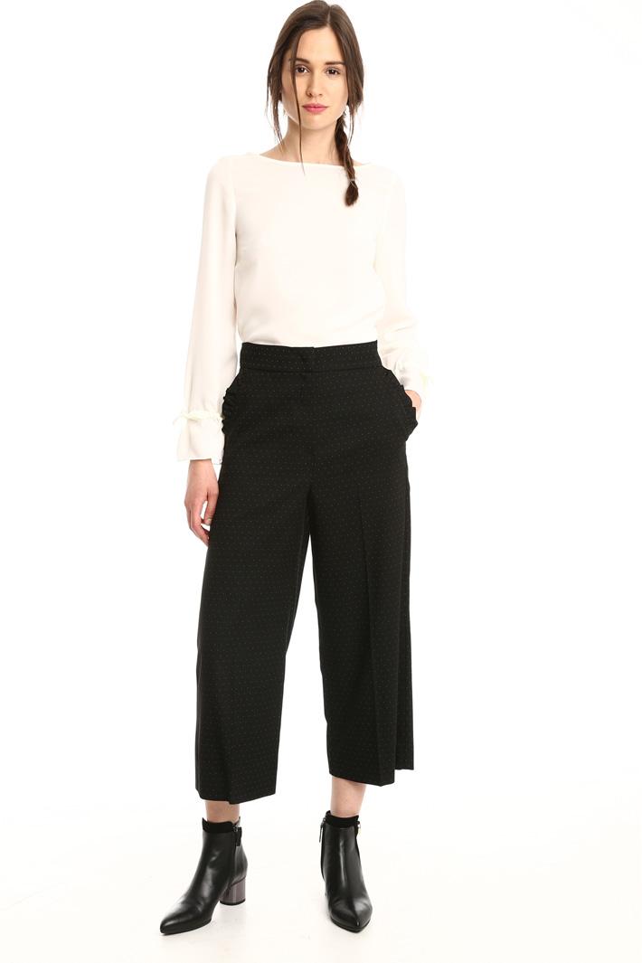 Pantaloni a microfantasia Fashion Market