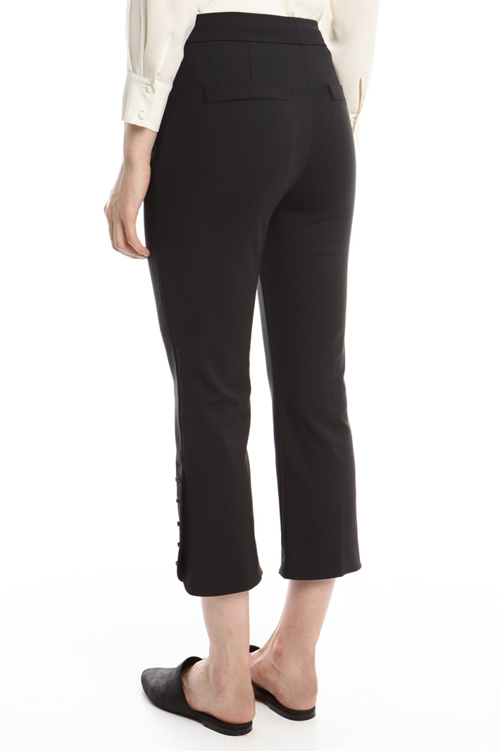 Pantaloni con bochie colorate Fashion Market
