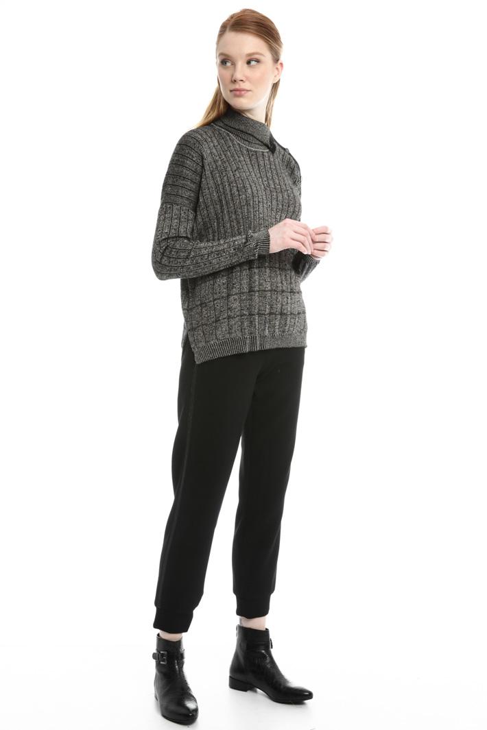 Pantaloni in piquet Fashion Market
