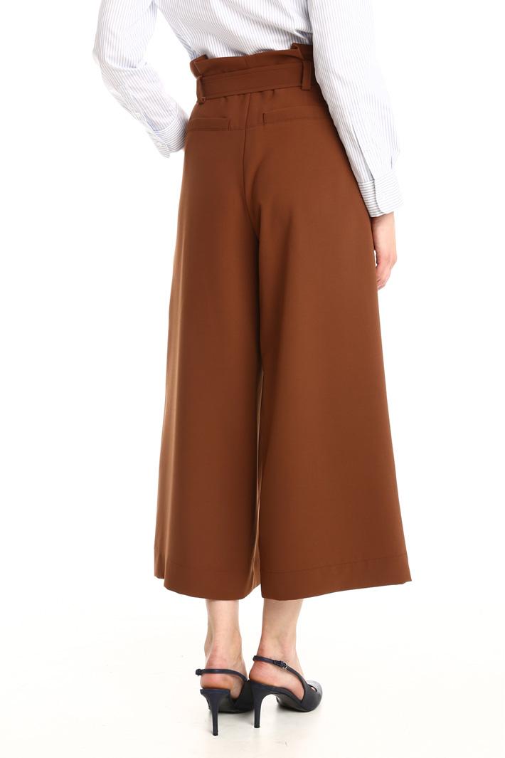Pantalone a vita alta Fashion Market