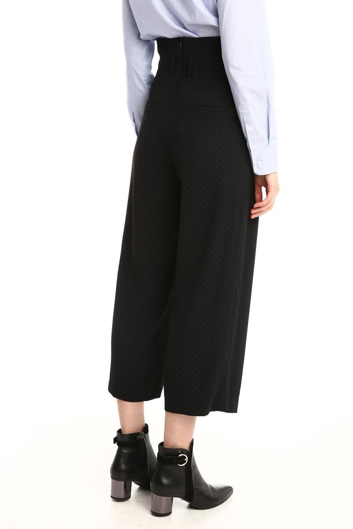 Pantaloni a vita alta Fashion Market