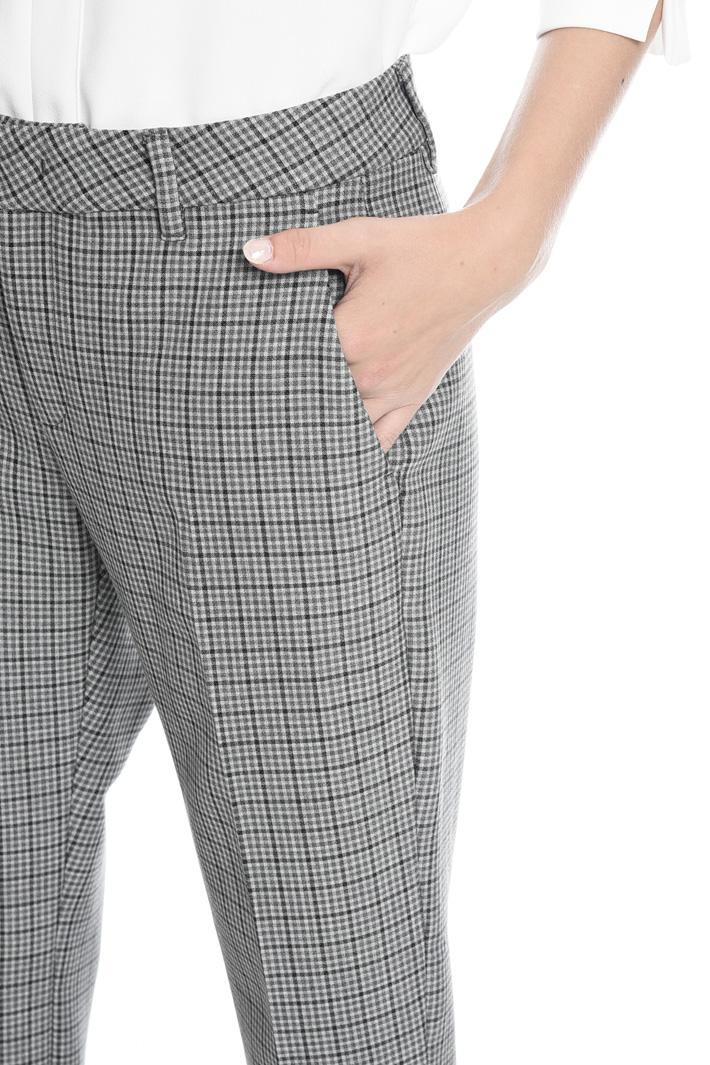 Pantalone in tessuto stretch Fashion Market