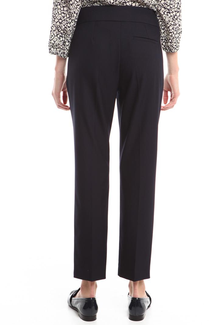 Pantaloni in crepe stretch Fashion Market