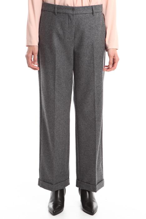Pantaloni in panno leggero Fashion Market