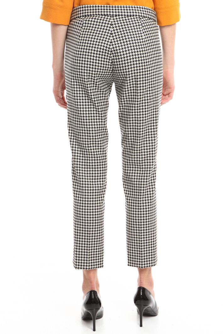 Pantalone in lana jacquard Fashion Market