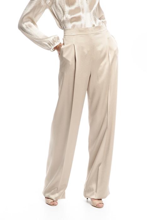 Pantaloni in envers satin Fashion Market