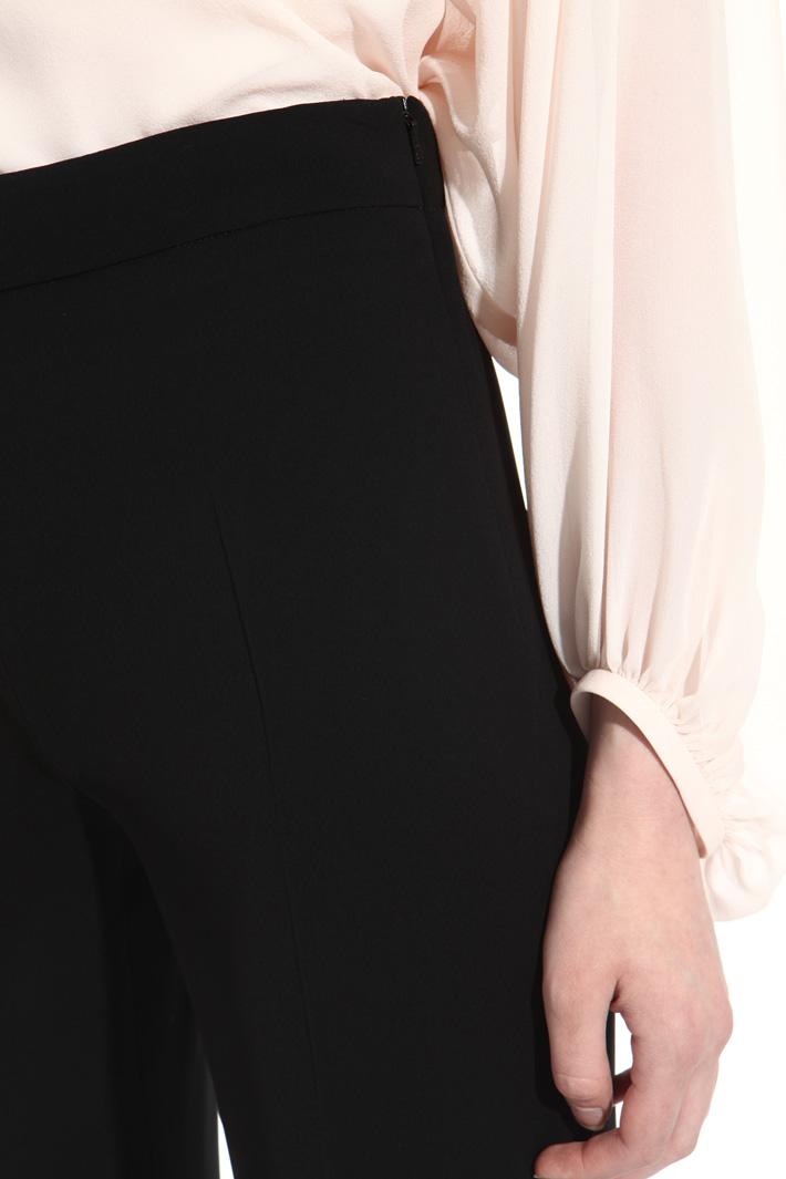 Pantalone lungo in triacetato Fashion Market