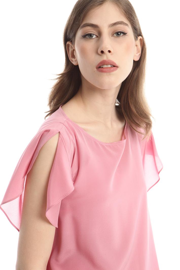 Top in crepe de chine Fashion Market