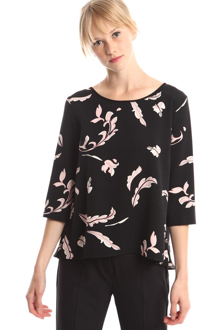 Blusa stampata a fantasia Fashion Market
