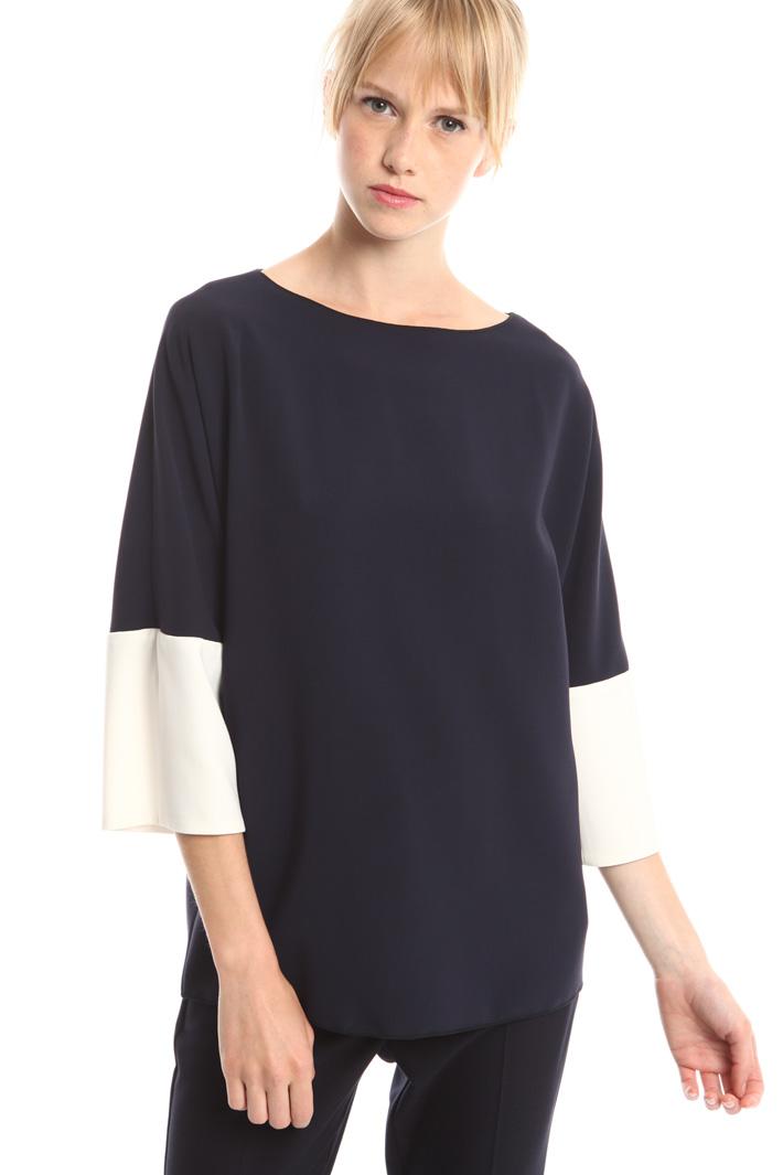 Blusa in cady di triacetato Fashion Market
