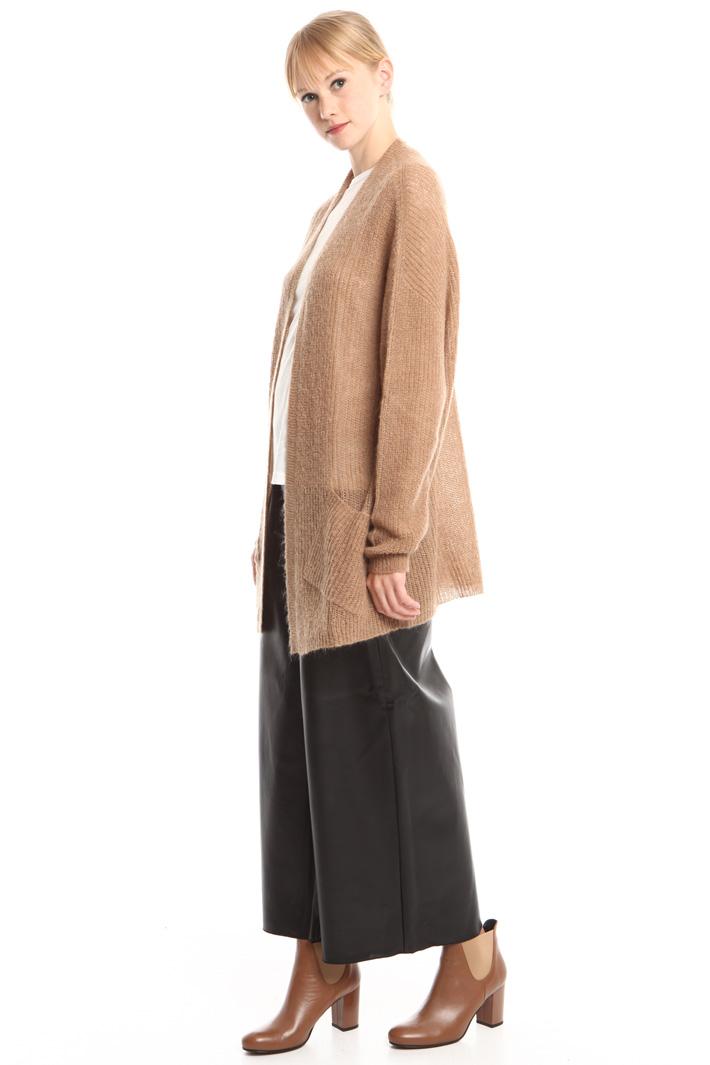 Cardigan aperto in mohair Fashion Market