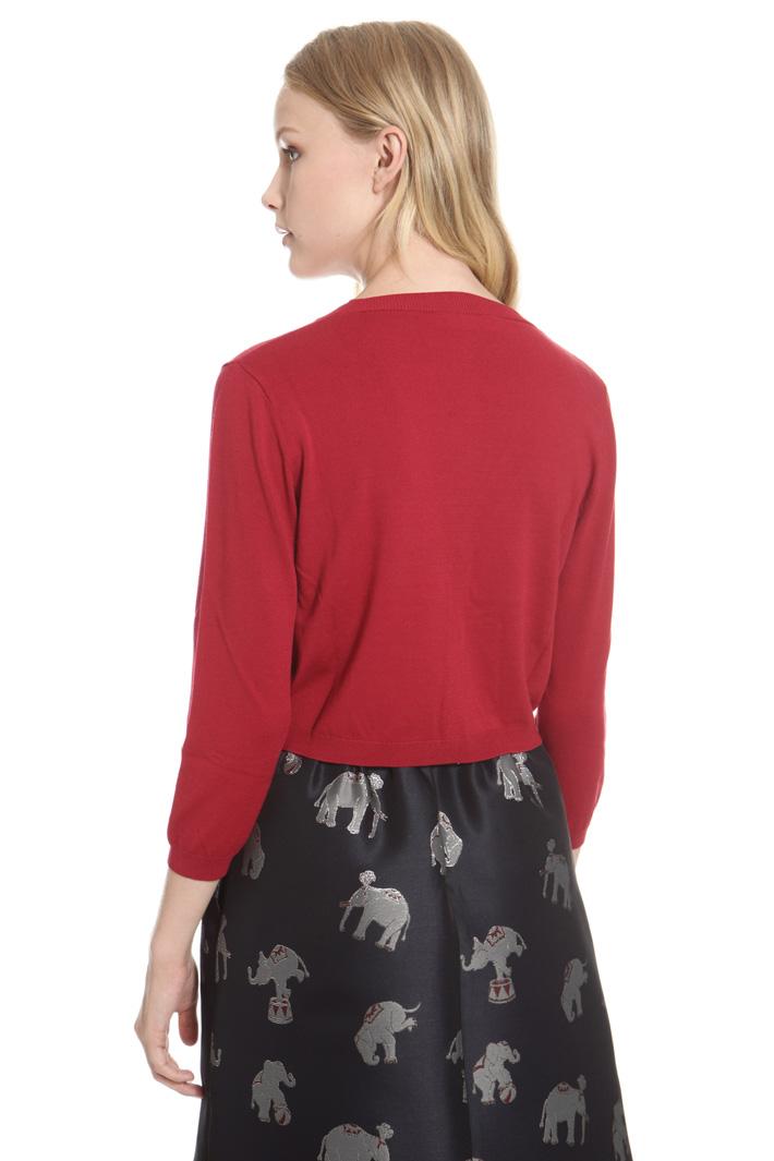 Cardigan corto in viscosa Fashion Market