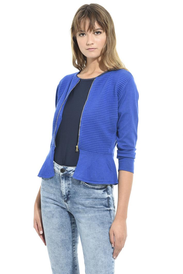 Cardigan con zip Fashion Market