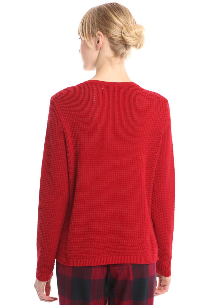 Maglia in viscosa a rilievo Fashion Market