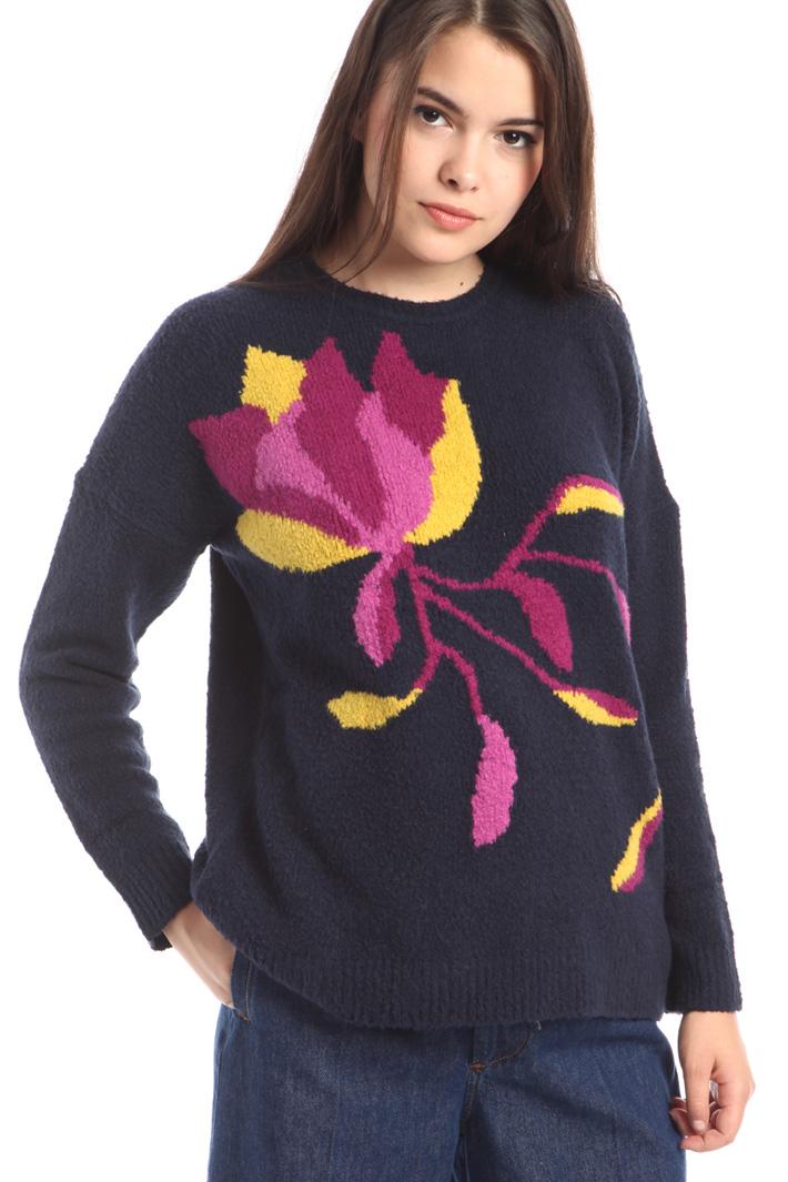 Maglia intarsio multicolor Fashion Market