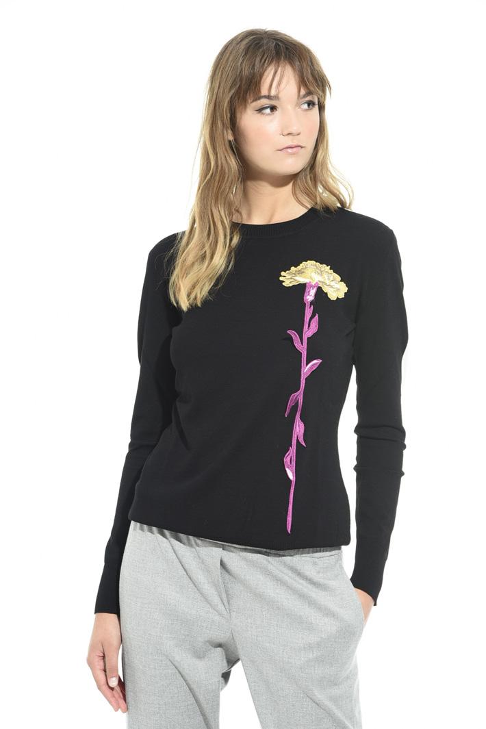 Maglia leggera con applicazione Fashion Market