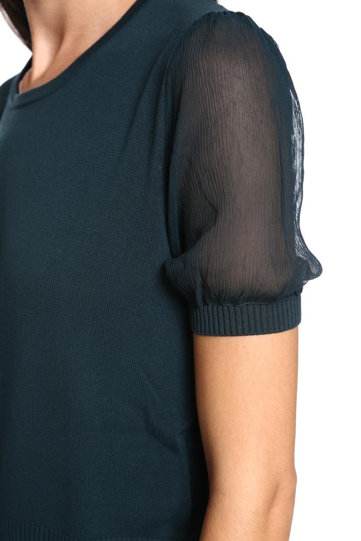 Maglia con maniche in seta Fashion Market