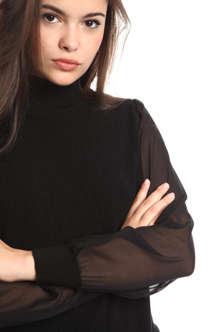 Maglia con trasparenze Fashion Market