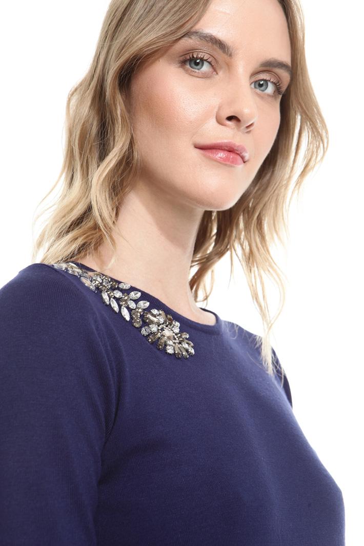 Maglia con dettaglio gioiello Fashion Market