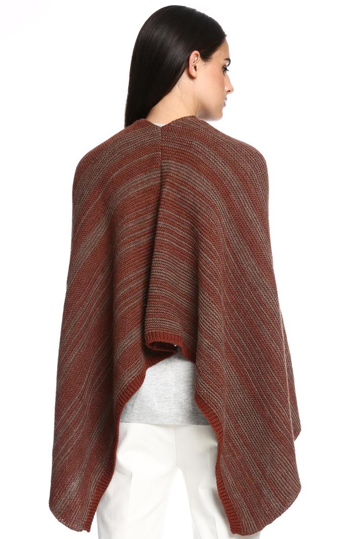 Poncho in maglia Fashion Market