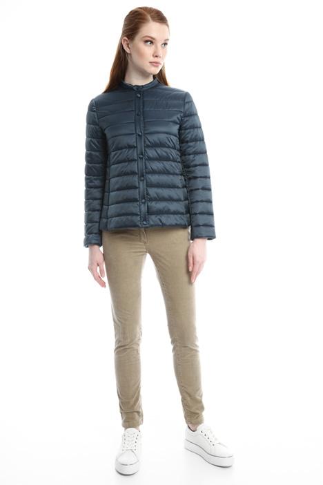 Piumino corto effetto satin Fashion Market