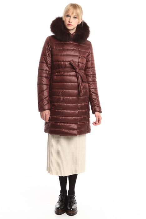 Imbottito con bordo in pelliccia Fashion Market