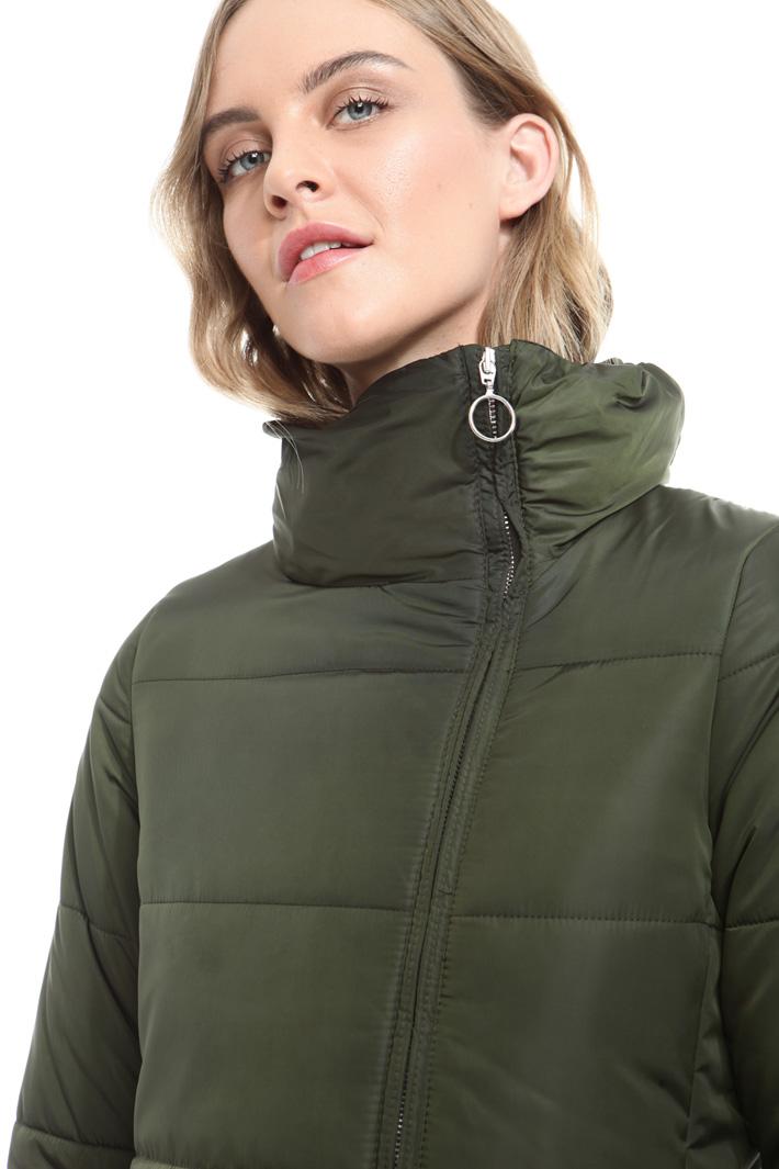 Imbottito con zip asimmetrica Fashion Market