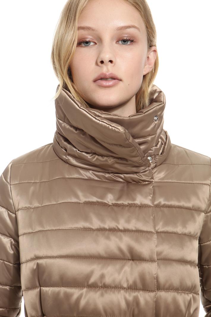 Piumino over in raso tecnico Fashion Market