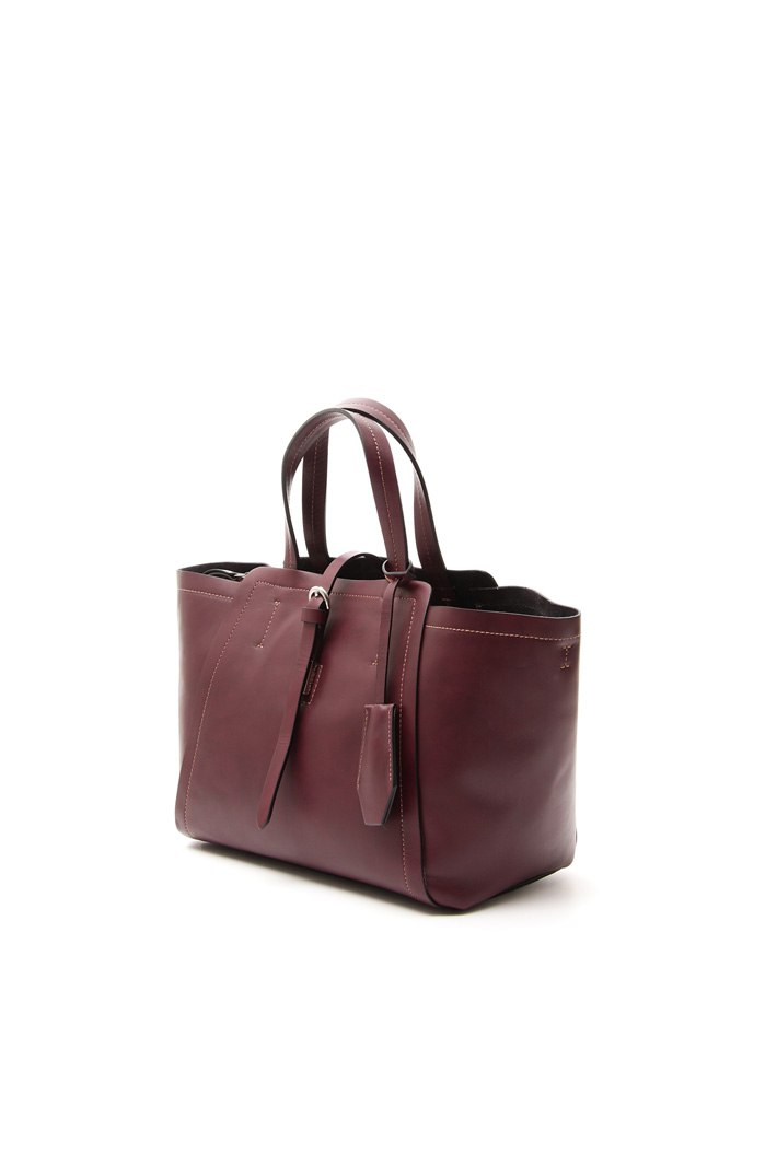 Piccola shopper in pelle Fashion Market
