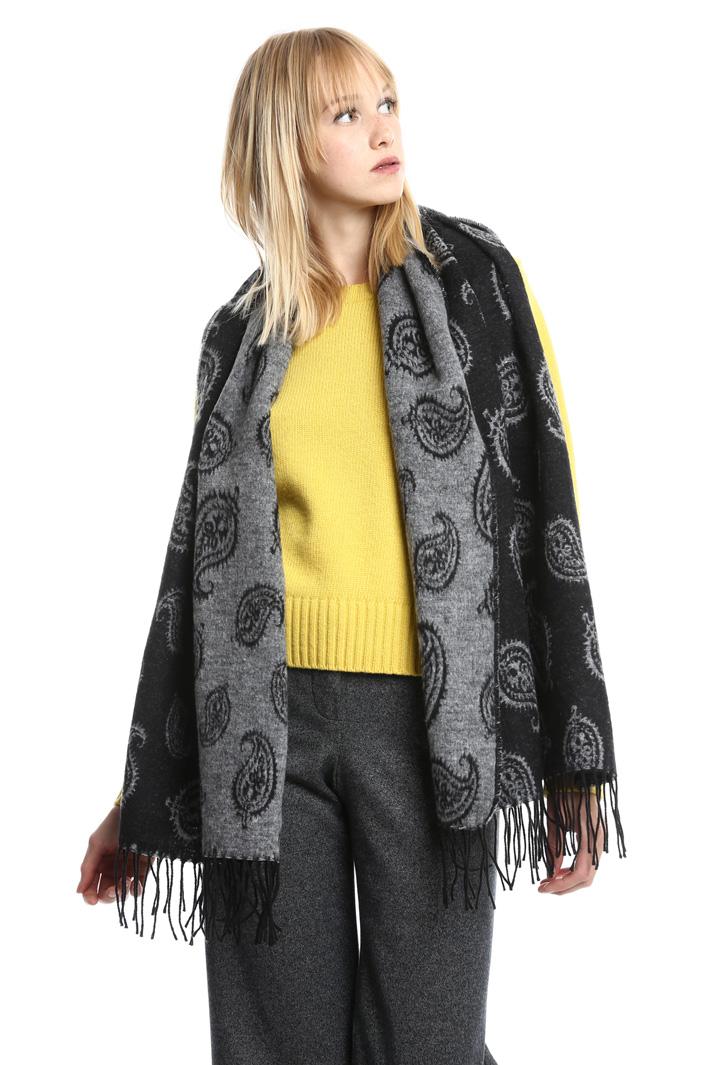 Sciarpa in cotone con frange Fashion Market