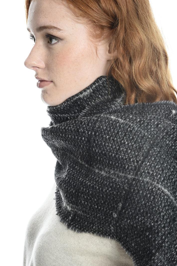 Sciarpa tressè in misto lana Fashion Market